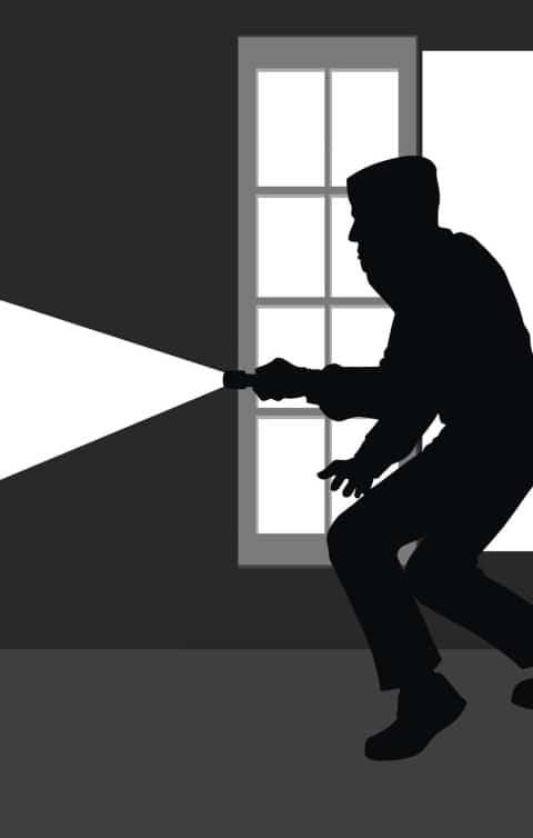 Schutzt vor Einbrechern